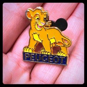 Lion king Disney pin trading enamel simba cub